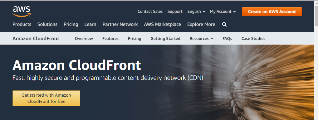 Amazon CloudFront Free WordPress CDN Service
