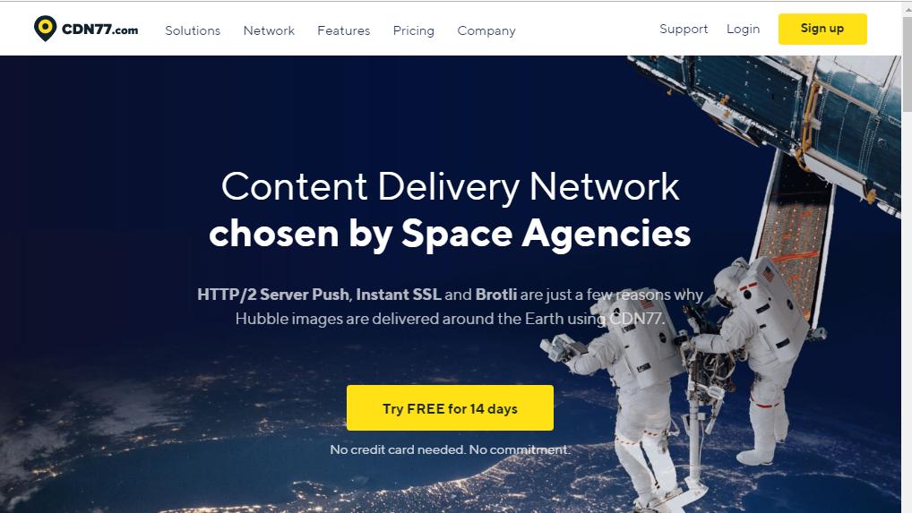 CDN77 Free WordPress CDN Service