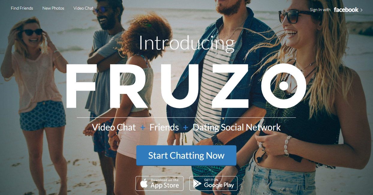 Fruzo video chat rooms