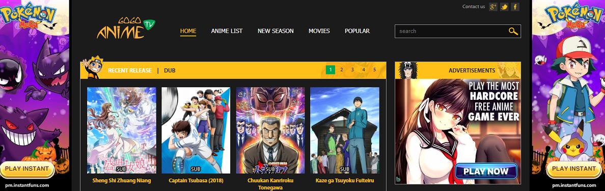 GoGoAnime for Free Anime Streaming
