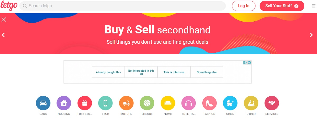 Letgo to Sell Items