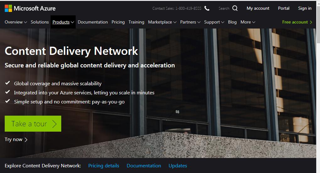 Microsoft Azure CDN