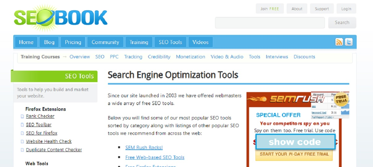 SEO Book for SEO & PPC