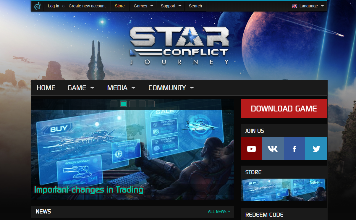 The Star Conflict mmo