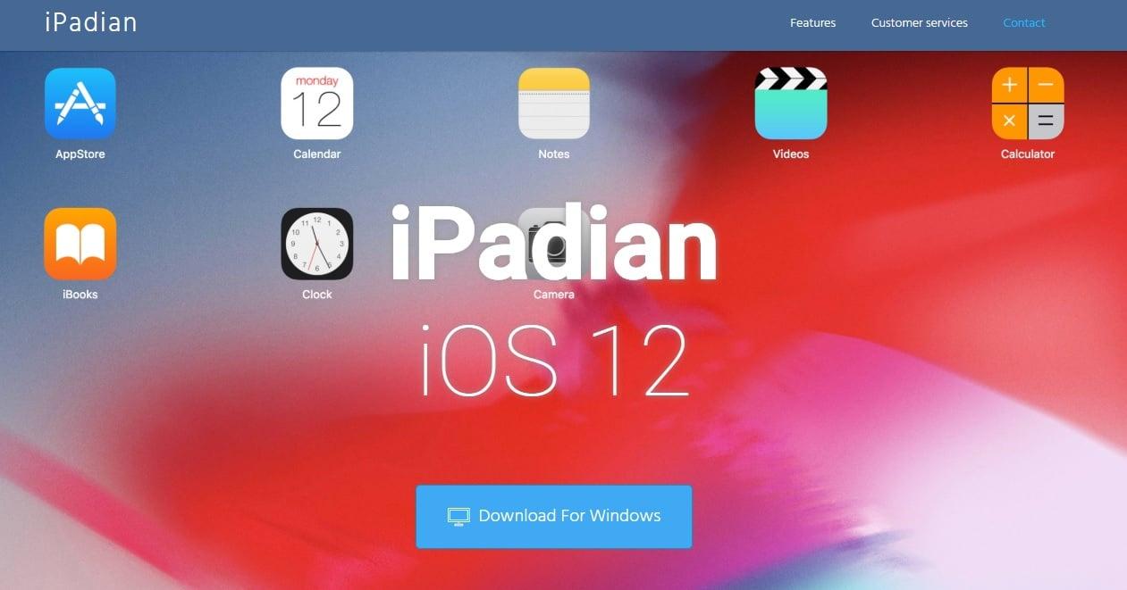 The iPadian iOS emulator