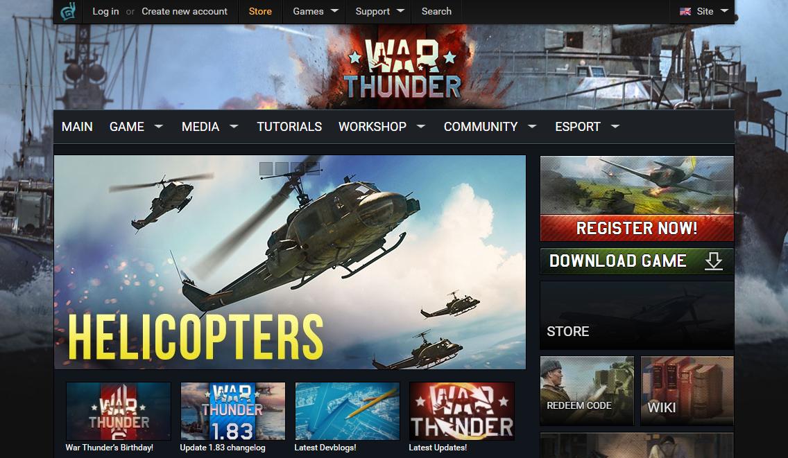 War Thunder MMO