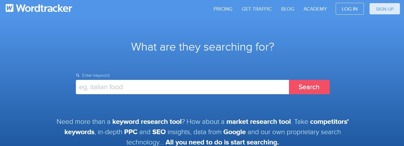 Wordtracker for SEO & PPC