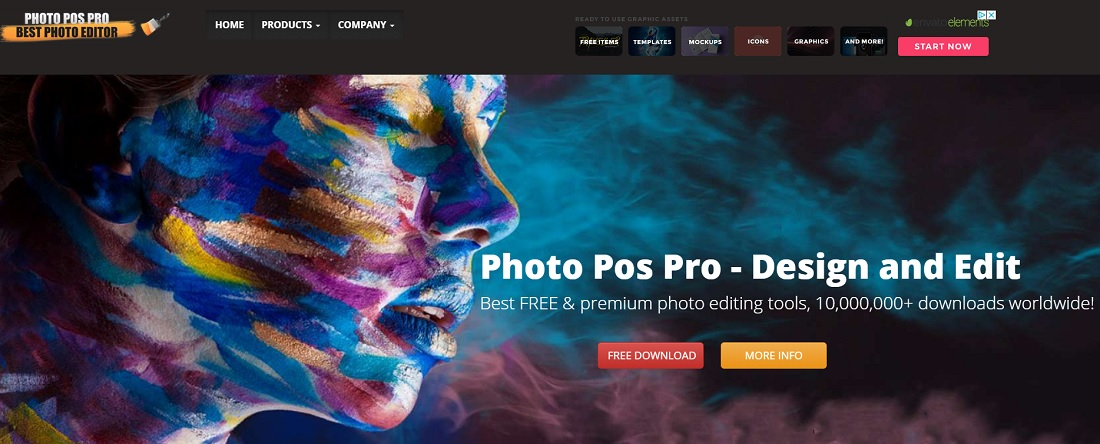 photopos free online photo editors