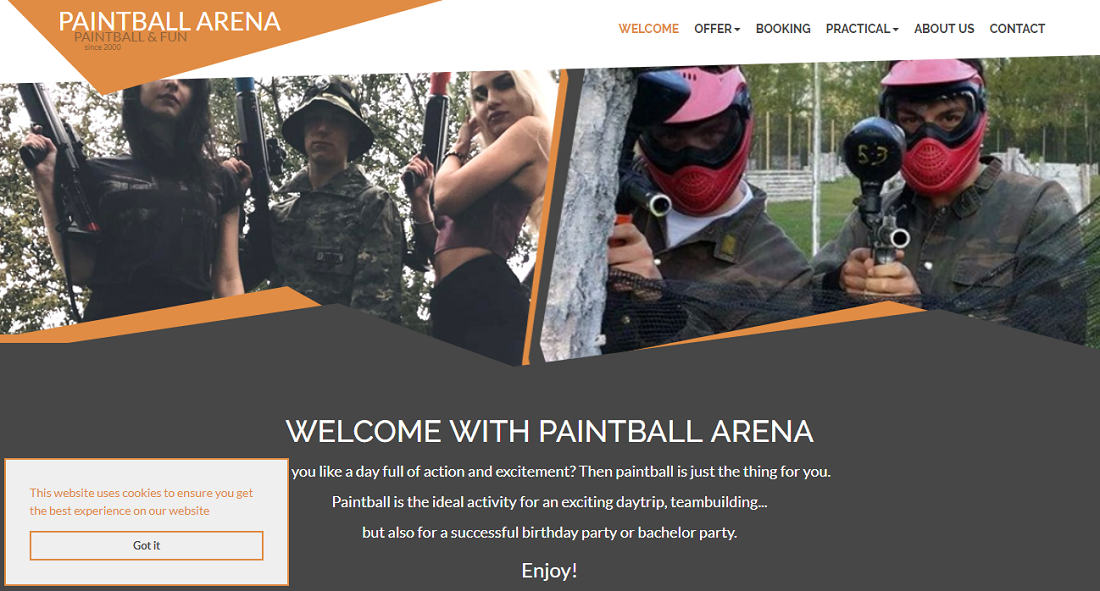 Paintball Arena