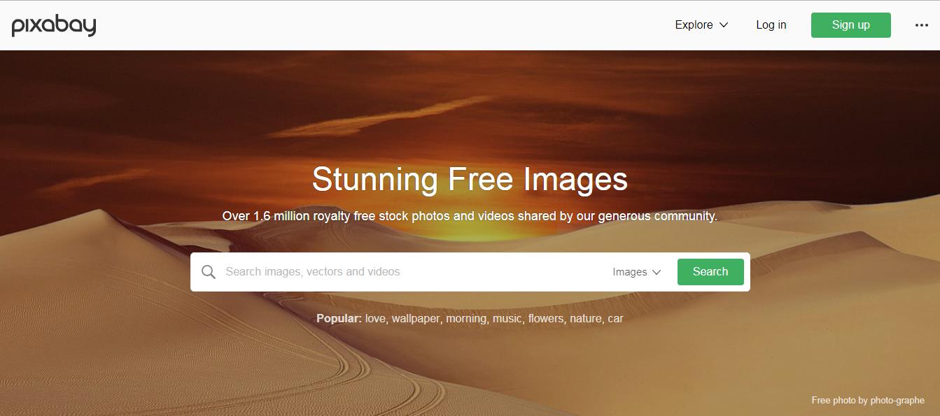 Pixabay quality photos