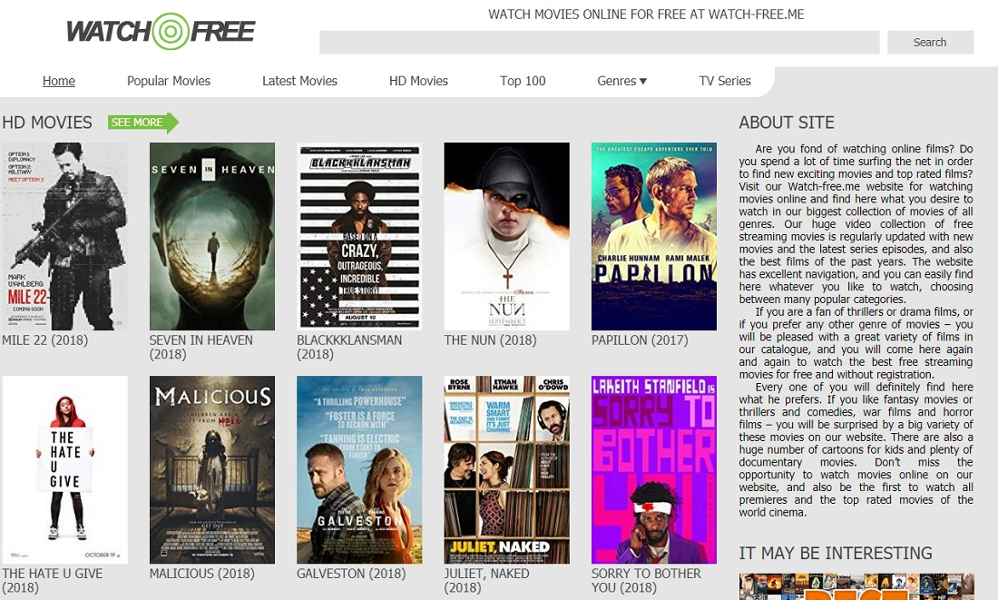 123movies Alternatives - Top 15 Sites like 123movies to Watch Movies Online