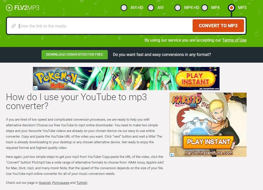 AVI YouTube Converter