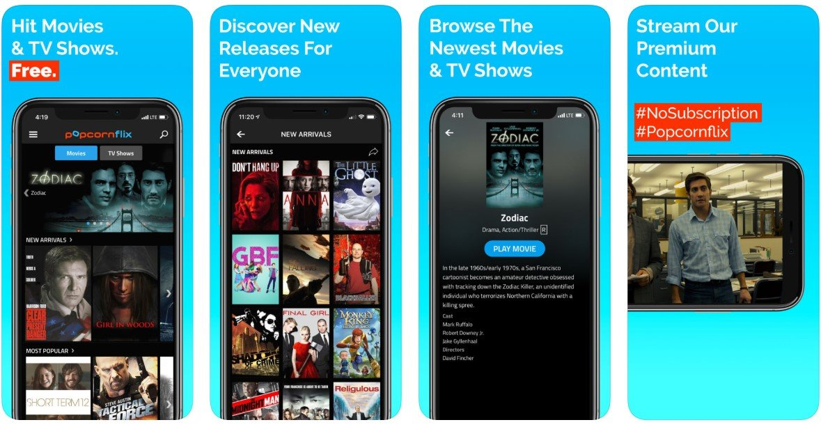 free movie streaming apps 2019