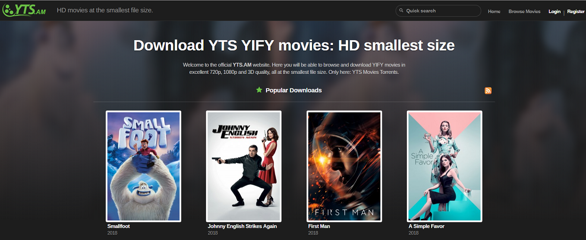 yify movies official unblocked