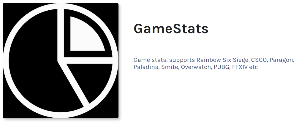 Game Stats - discord bot for game