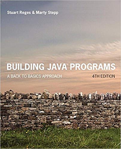 Building Java Programs A Beginner's Guide