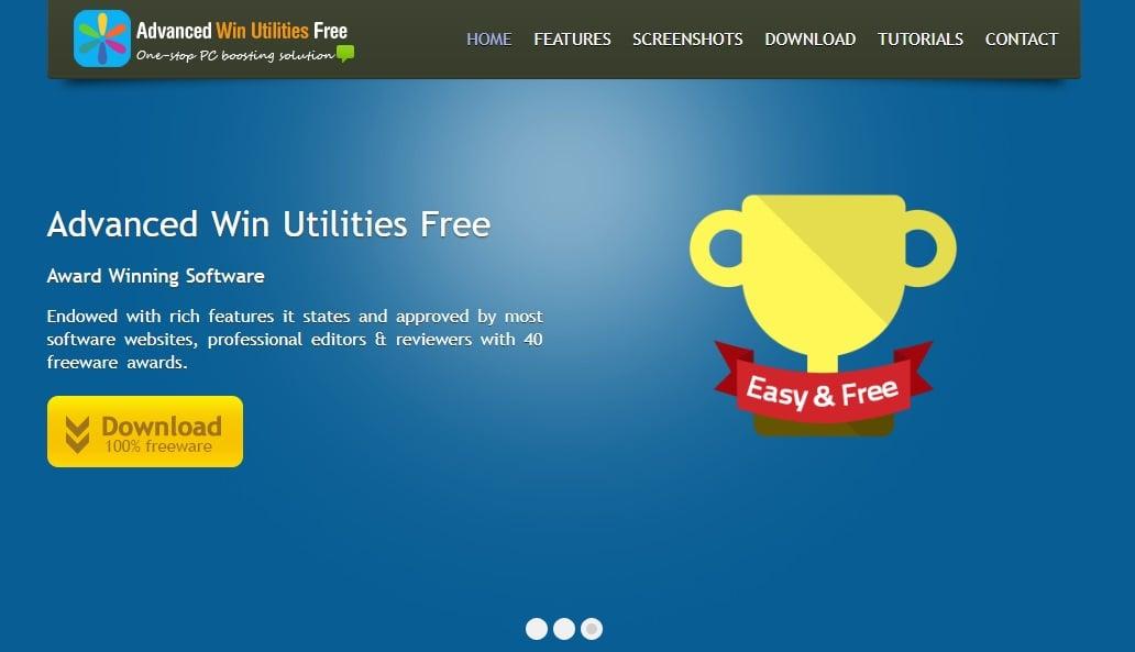Advanced Win Utilities Free