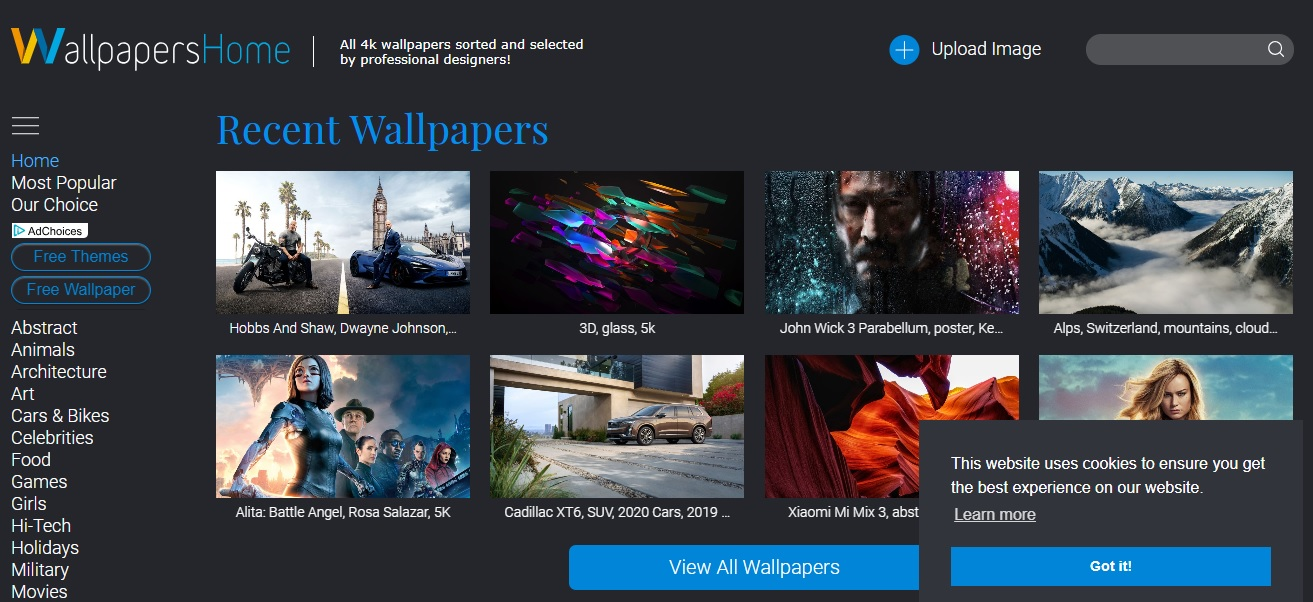WallPapers Home