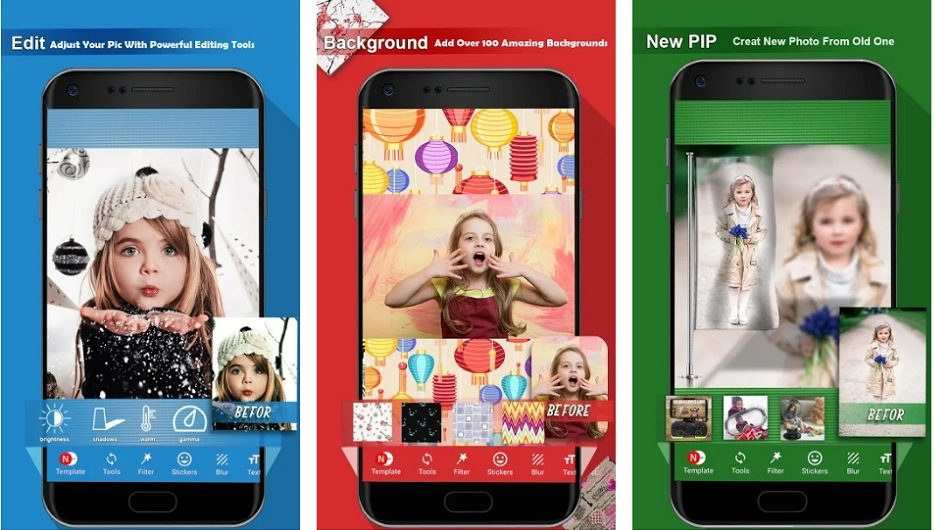Blur Square - No Crop Photo Editor & Collage Maker