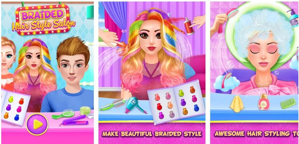 Braided Hairstyles Salon
