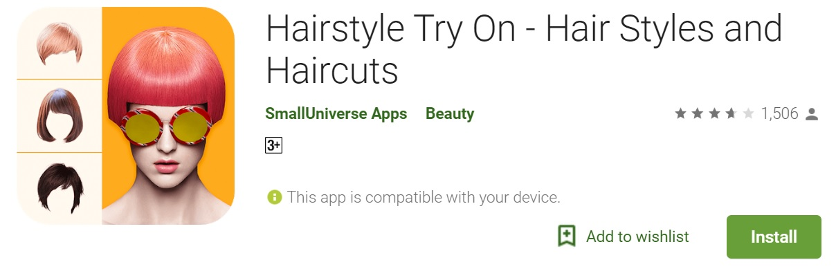 Hairstyle Try-On