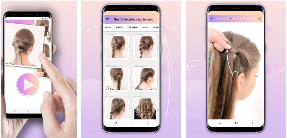 Hairstyles Step-By-Step