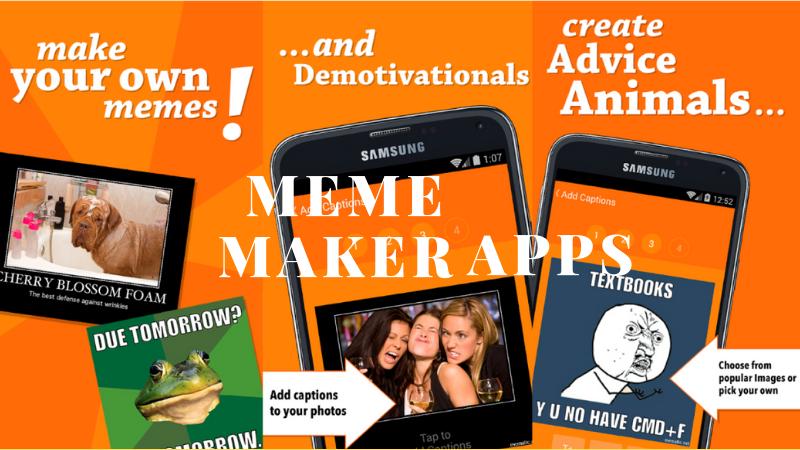 Meme Maker apps