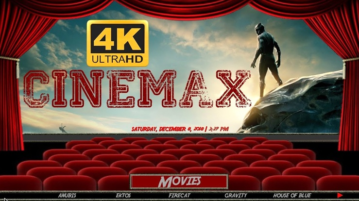 Cinemax Kodi Build