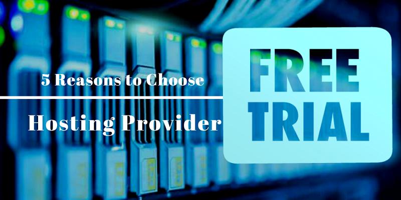 Hosting - Free trial before you buy