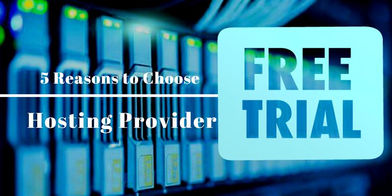 Hosting - Free trial before you buy