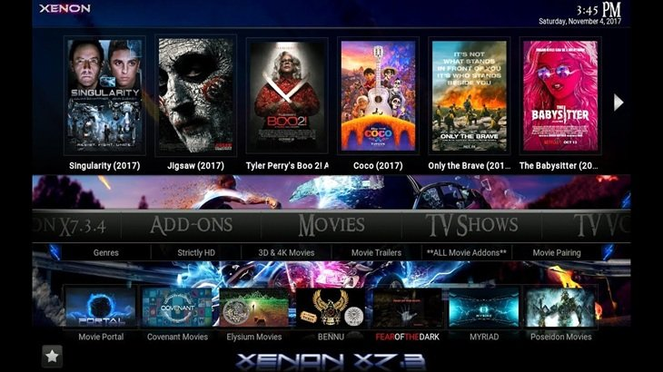 XENON Kodi Build