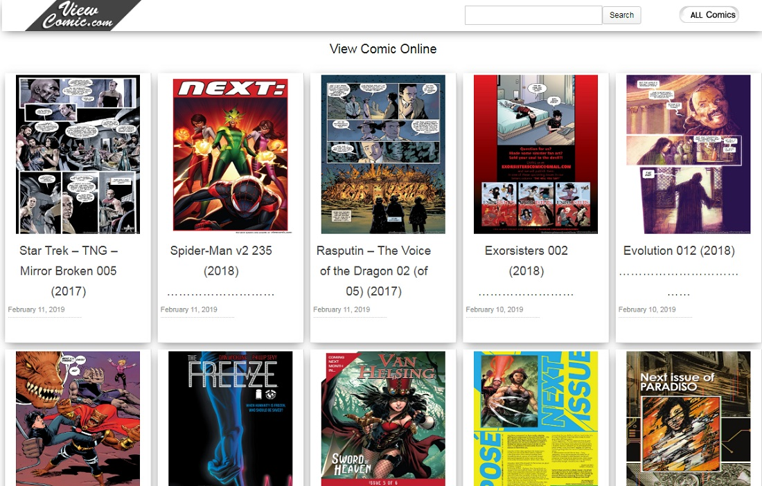 View Comic Online