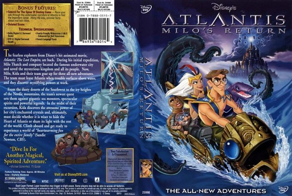 Atlantis- Milo's Return
