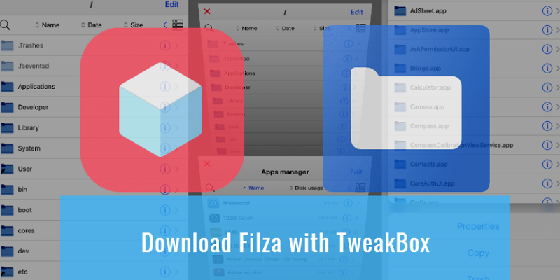 Download Filza with TweakBox