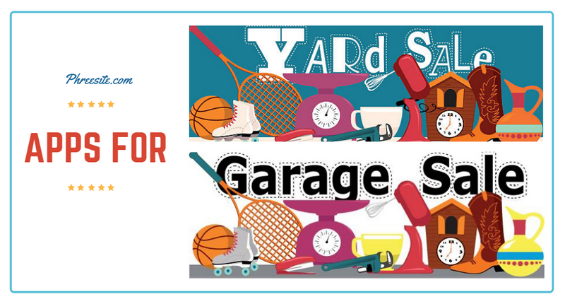Garage Sales & Yard Sales App