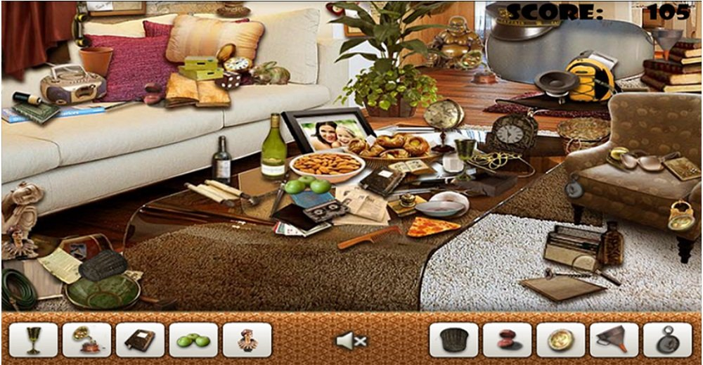 Mansion Hidden Object Games