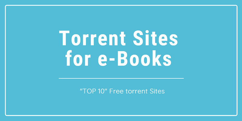 Torrent Sites for Books