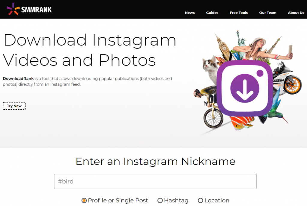 DownloadRank - Download Instagram Videos and Photos