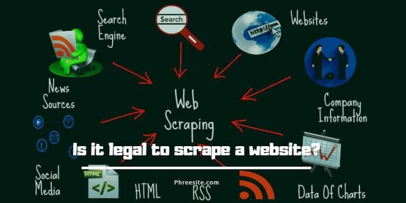 Is it legal to scrape a website