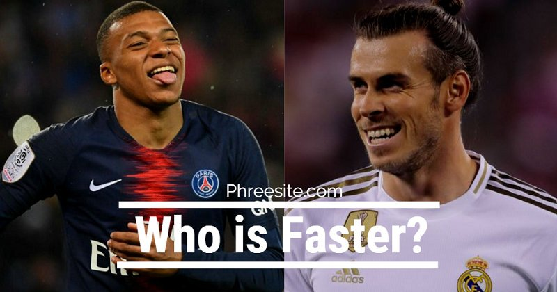 Who is Faster: Bale vs. Mbappe