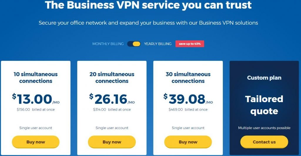 hidemyass Business VPN