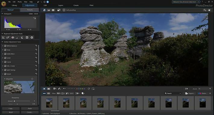 Nice layers in PhotoDirector