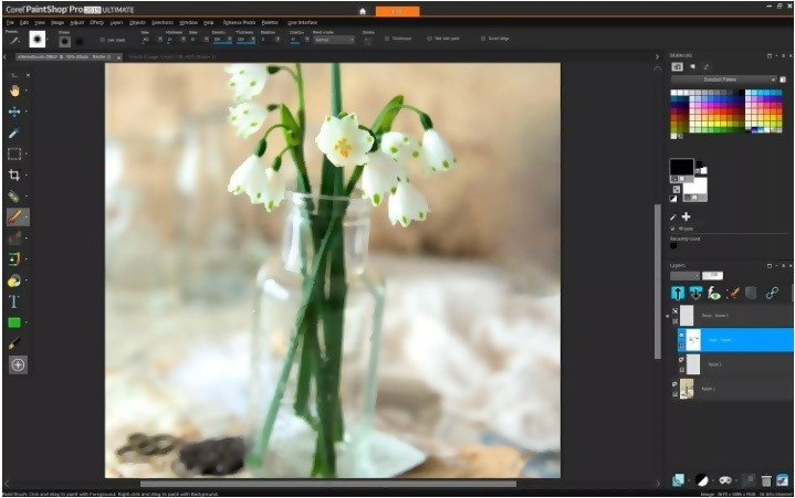 Various editing tools