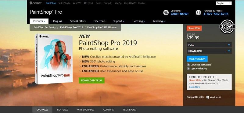 Visiting PaintShop