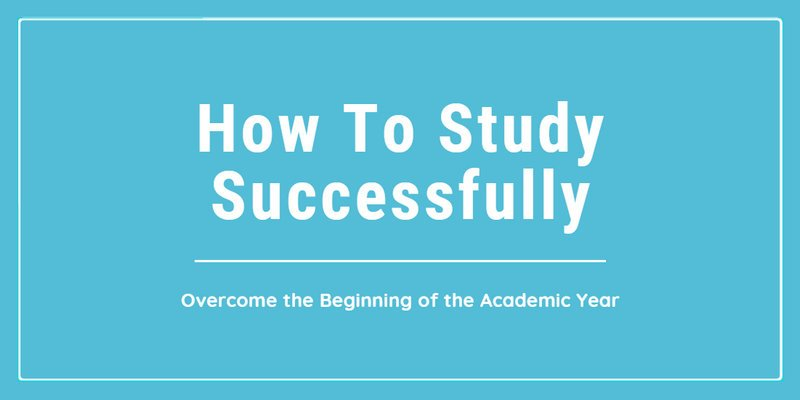 study Successfully When Academic Year