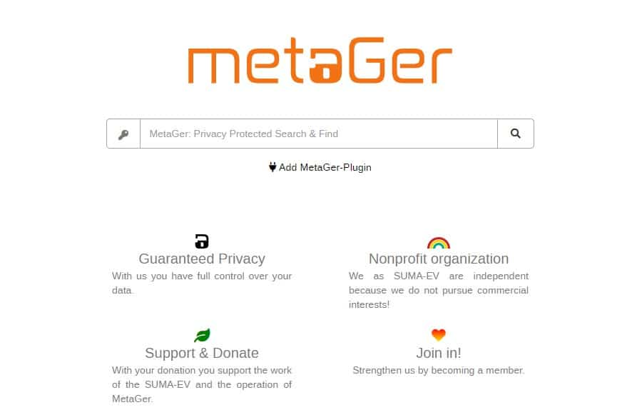MetaGer search engine