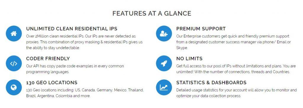 GeoSurf Features