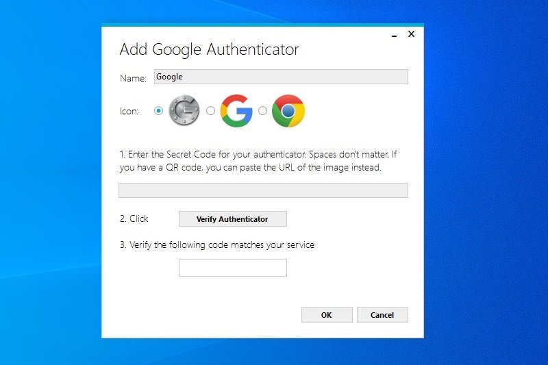 Google Authenticator code