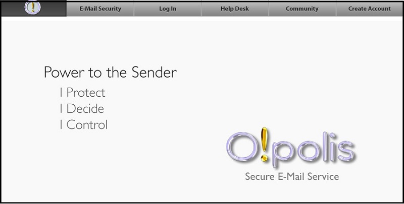 Opolis Secure Email Service