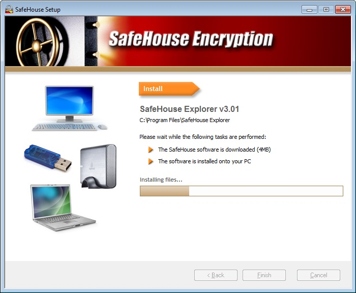 SafeHouse Explorer